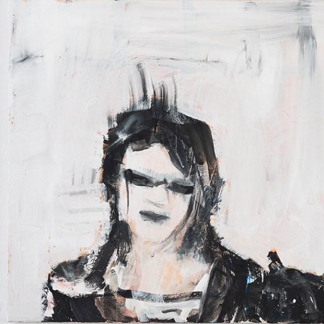 Katzenjammer IV, 77 x 77 cm, 2019