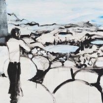 Höllengebirge IV, 100 x 160 cm, 2016