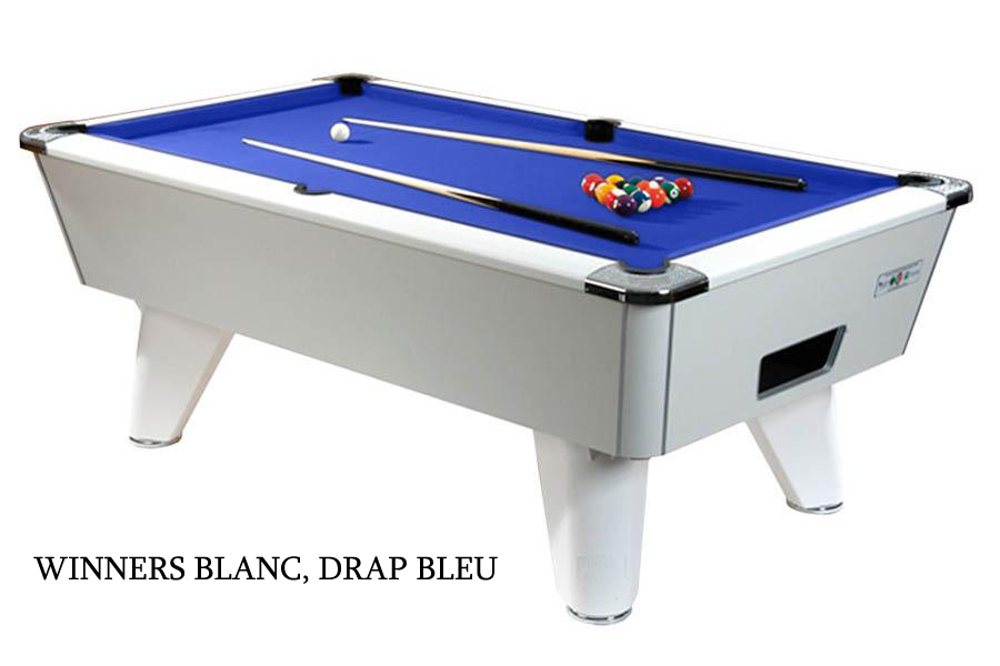 Bureau Professionnel En Anglais Billard Anglais 8 Pool 210cm - Supreme Pool Winners 7ft
