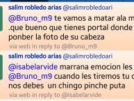 Amenaza a la periodista Isabel Arvide vía Twitter. Foto: Especial