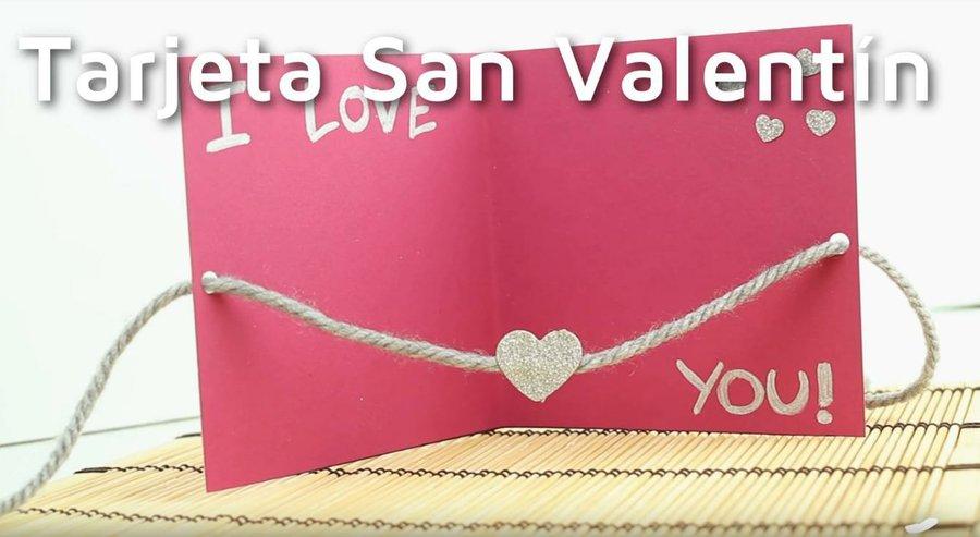 Cómo hacer una romántica tarjeta para San Valentín Manualidades