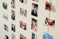 5 Nice Creative ways to hang pictures without frames ...