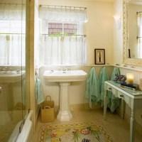 Modern Bathroom Window Curtain Ideas : 8 Ideal Small ...