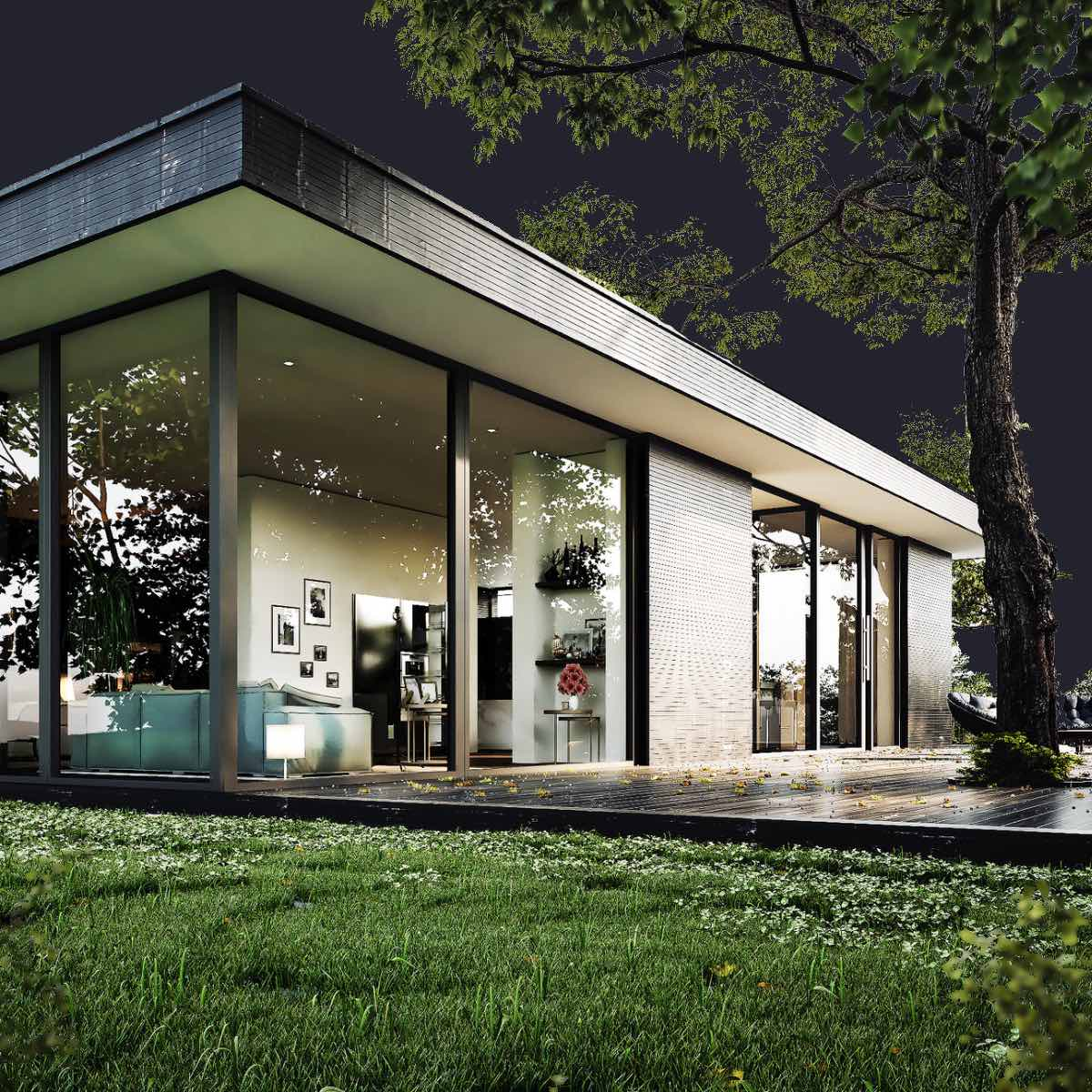 Architektur Rendering Architecture Visualization - Estate Render