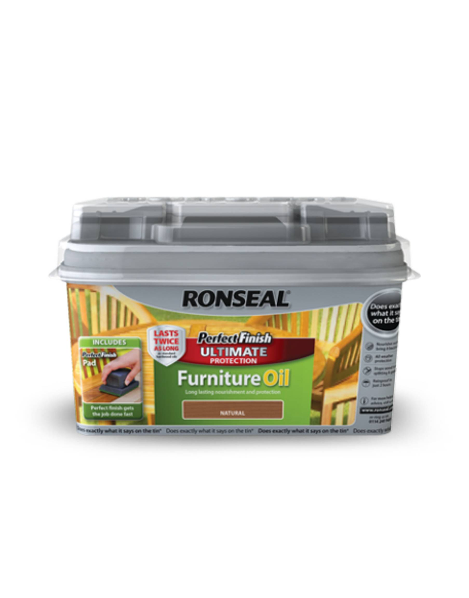 Perfect Finish Upholstery Ronseal Perfect Finish Ultimate Protection Hardwood Garden