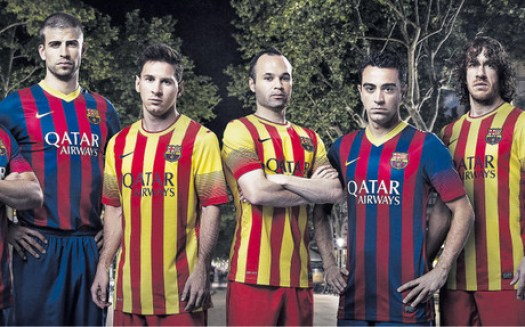 1369121842621 Barcelona release new Nike kits for 2012/2013 (No more Tequila Sunrise!)
