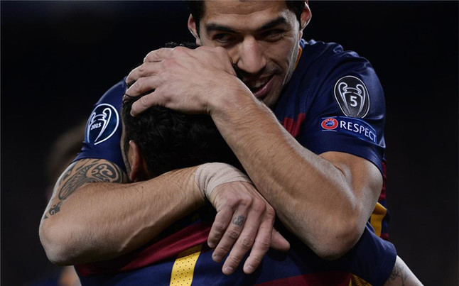 'Killer' Luis Suarez goes on goal per game in the league and Champions