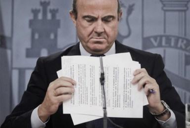 El ministro de Economía, Luis de Guindos. | Efe