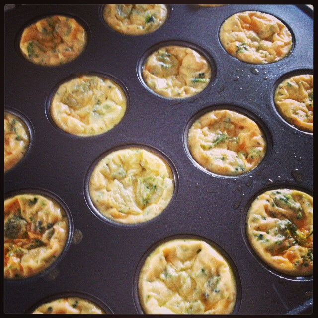 Healthy Egg Quiches