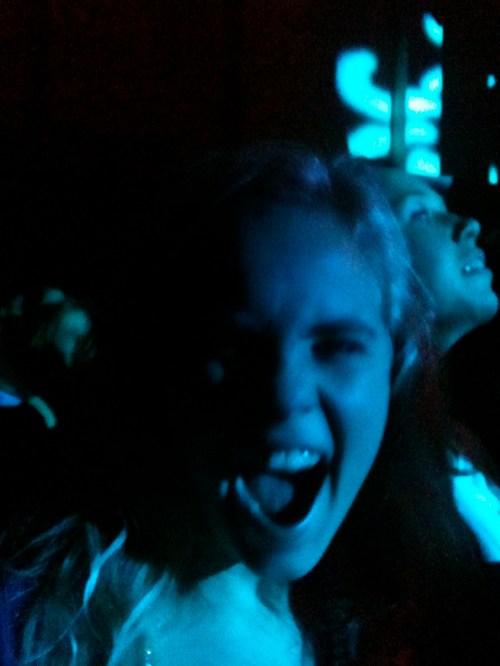 Marie på konsert