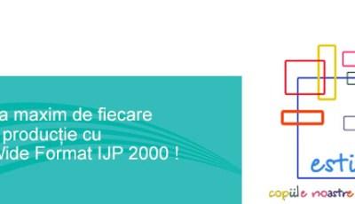 Profitati la maxim de fiecare minut de productie cu Xerox Wide Format IJP 2000
