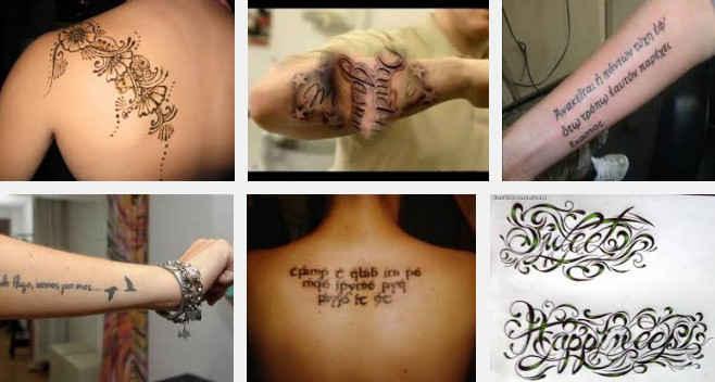 ▷ Estilos de letras para tatuajes - Estilos-de - Letras Para Tatuajes
