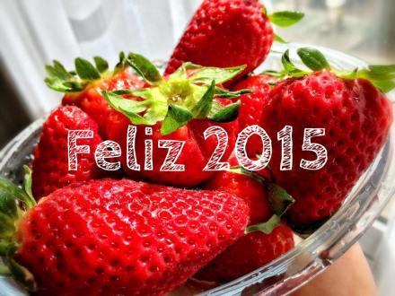 feliz 2015 fresas