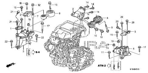 2008 acura rdx engine diagram