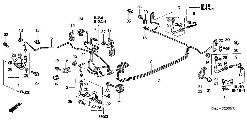2001 Schema moteur