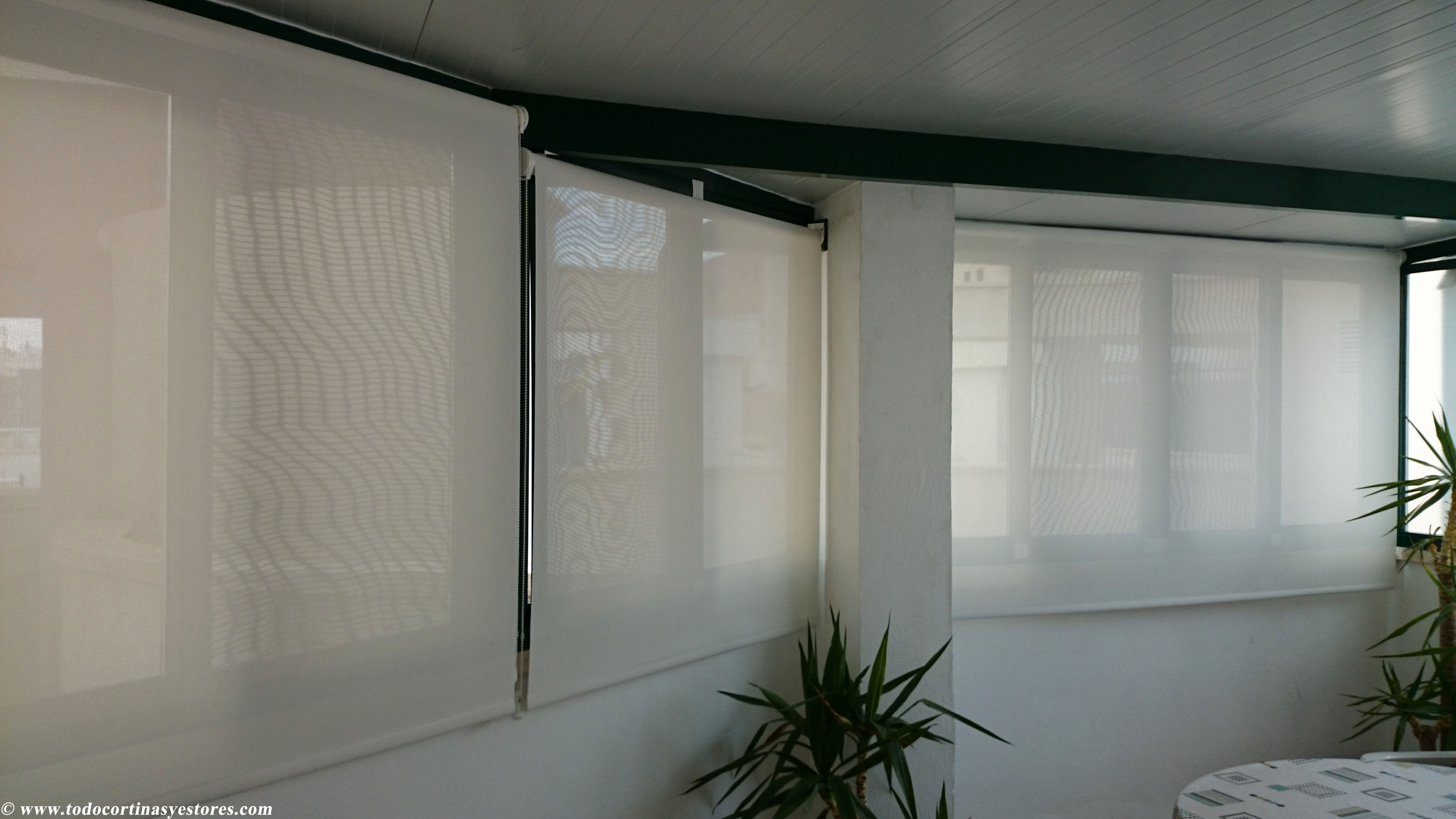 Cortinas Enrollables Ikea Estores Para Techos Desnivelados | El Blog De Decoración