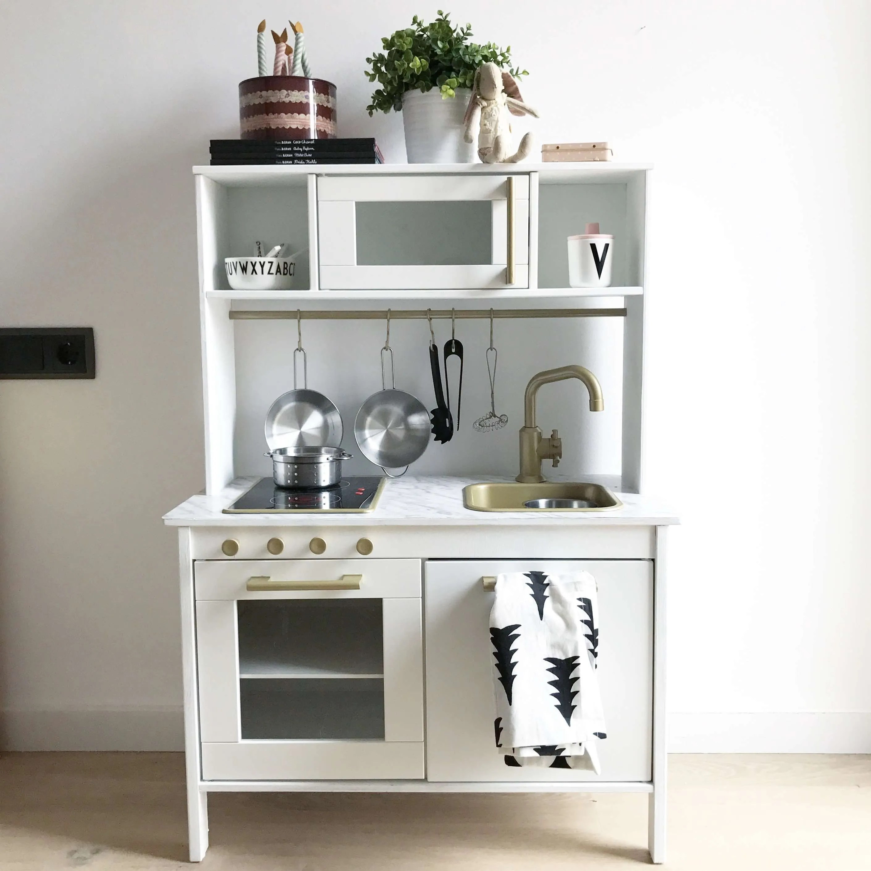 Ikea Duktig Hack Estoreta Family Craft Deco - Tabla De Cocina Ikea