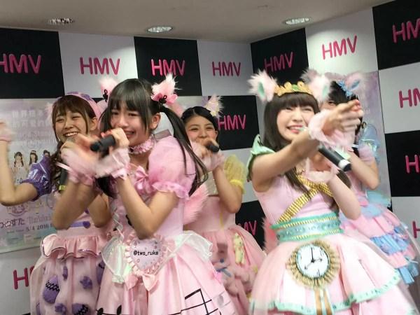 三品瑠香さんの凱旋イベントがチーのわーすたデビュー