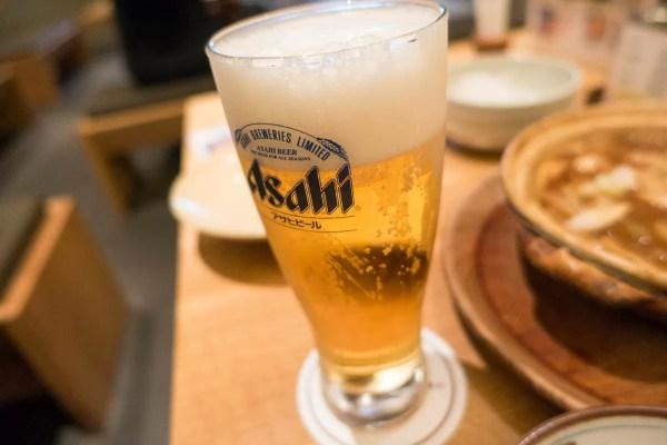 美味しくてついビールも