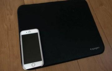 iPhone 6sと比較するとその大きさがよく分かる