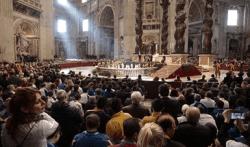 Celebración en la Basílica de San Pedro