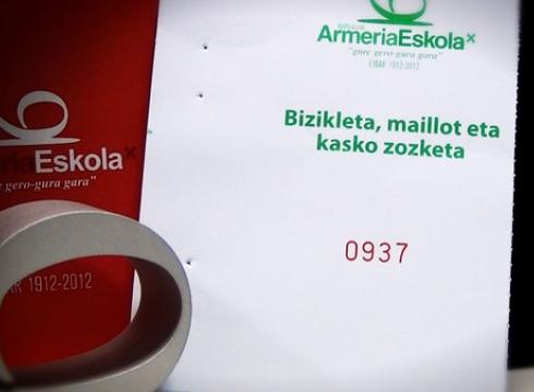 937  zenbakiarentzat  Armeria  Eskolako  bizikleta