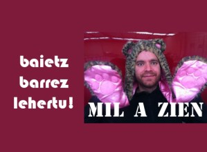 """""""Mil  a  zien""""  bakarrizketa  gaur  19:00etan"""