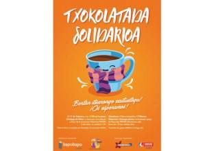 Txokolate-jan  solidarioa  bihar  Untzagan  Isekin  elkarteari  laguntzeko