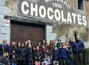Txokolate-fabrikara  bisita  goxoa