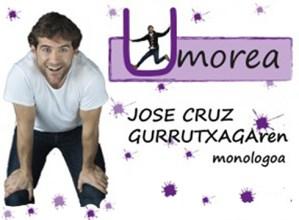 """""""Umorea"""" bakarrizketa, Jose Cruz Gurrutxagarekin @ Portalean"""