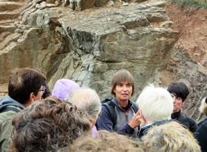 """Inma  Mugerza  (geologoa):  """"Euskal  Herriko  mendien  eboluzioa  Pirinioen  sorrerarekin  lotuta  dago"""""""