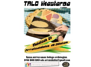 Talo ikastaroa (52. Euskal Jaia) @ Arrate Kultur Elkartean