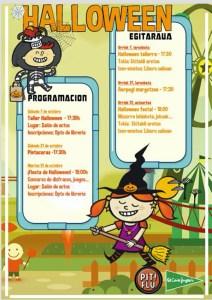 Halloween jaia @ El Corte Inglesean (ekitaldi aretoan)