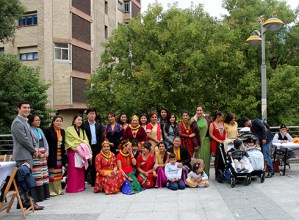 Dashain  jaialdia  ospatu  zuten  atzo  Eibarren  bizi  diren  nepaldarrek