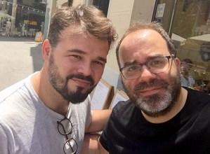 """Igor Meltxor kazetariaren """"Gabriel Rufián, la voz de la calle"""" liburuaren aurkezpena egingo da bihar Portalean"""