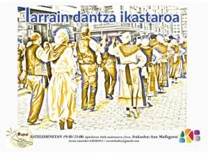 Larrain dantza, Biodantza eta dantza afrogaraikide ikastaroetarako izen-ematea zabalik dago Kulturalean