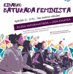 Eibarko Batukada Feminista @ San Andres ikastetxean