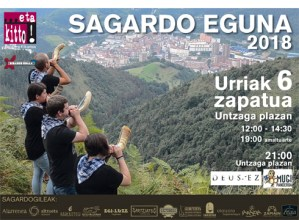 Sagardo eguna @ Untzaga plazan