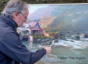 Esteban Orozen pintura erakusketa hartuko du Topalekuak hilaren 23ra arte