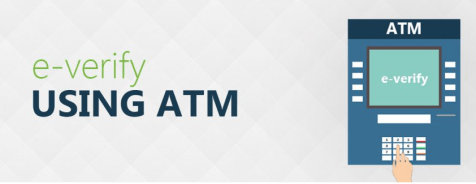 e-verify ITR using ATM