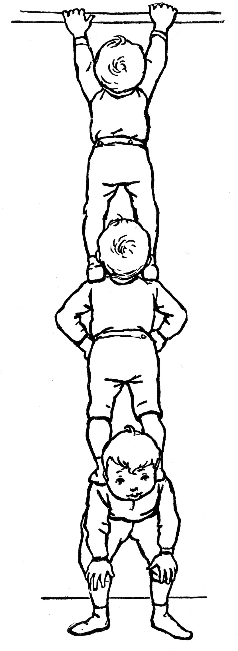 Clipart Images Video Boys Standing On Shoulders Clipart Etc