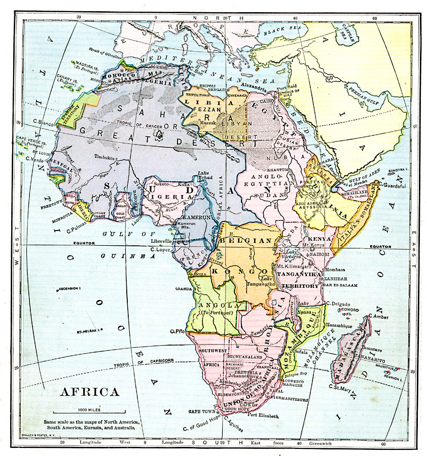 Map Southwest Africa Southwest Africa (Suidwes Afrika)-GB Postage - copy world map africa continent