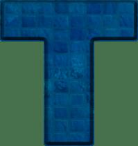 Blue Letter T - Bing images
