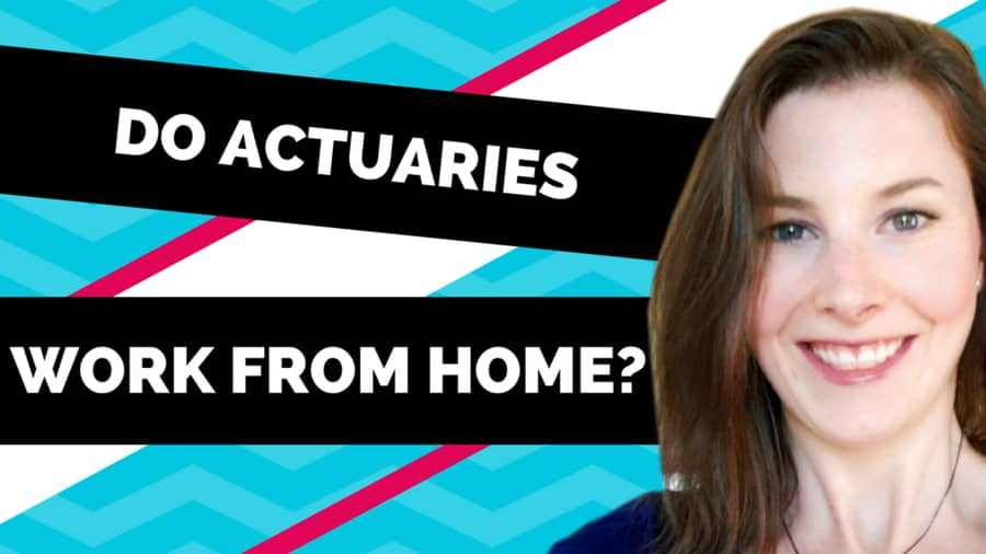 Do actuaries work from home? Etched Actuarial