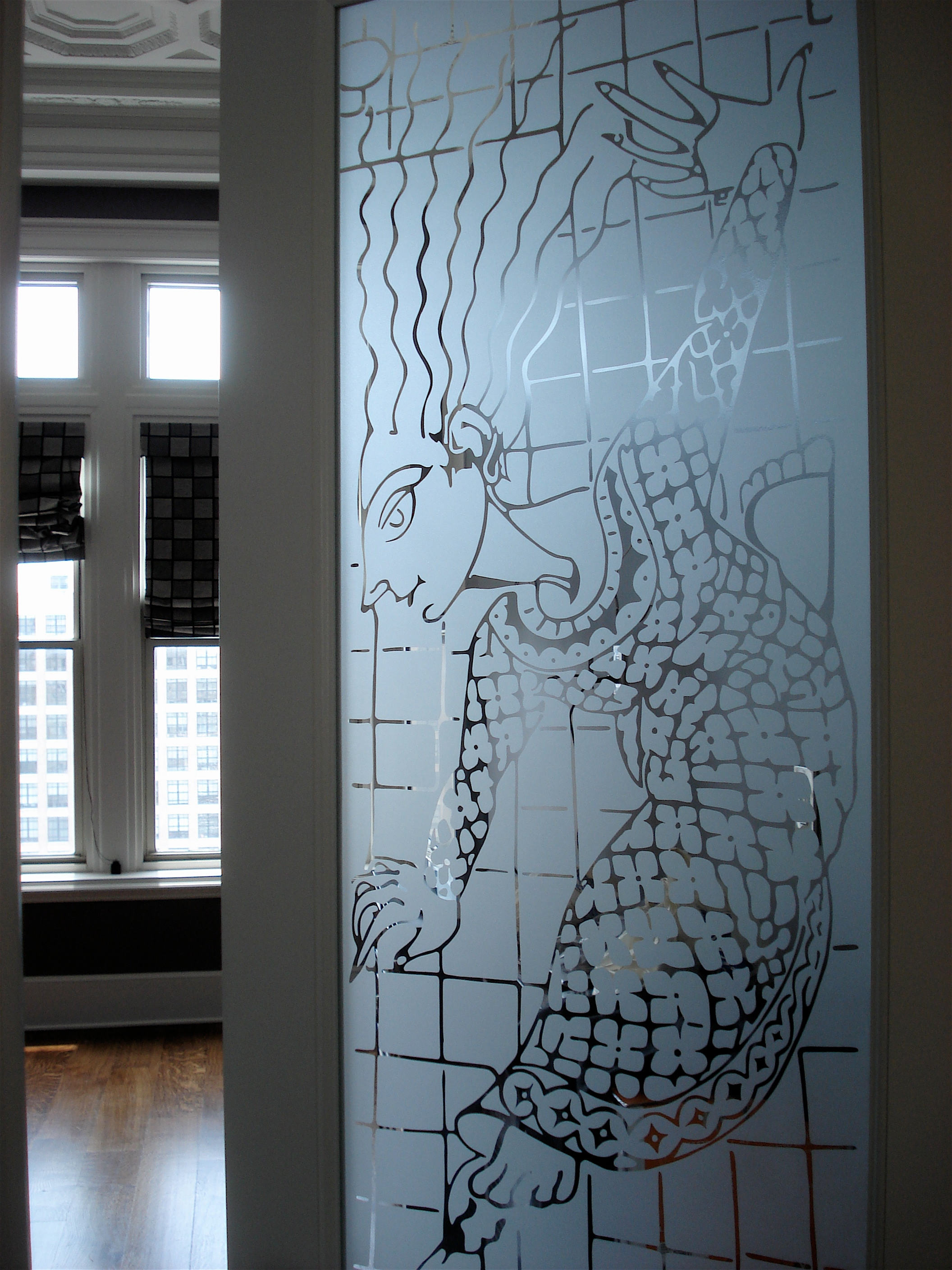 Etched Art