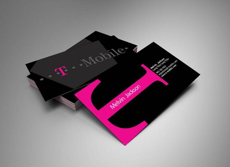 T-Mobile Business Card Design \u2013 Eternal Marketing by Brian Brooks