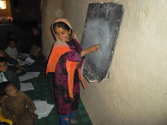 Afghan School Girl