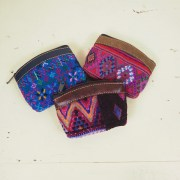 Guatemala Vintage Embroidery Coin Purse
