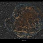 Simeis 147: a Intrincada Remanescente de Supernova