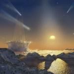 Cometas não só podem aniquilar a vida, mas também impedir que ela apareça!
